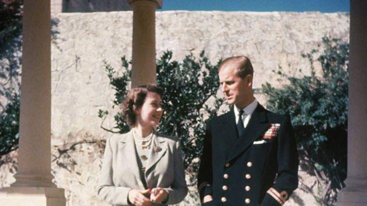 Prince Philip Princess Elizabeth and her husband Prince Philip, Duke of Edinburgh in Malta