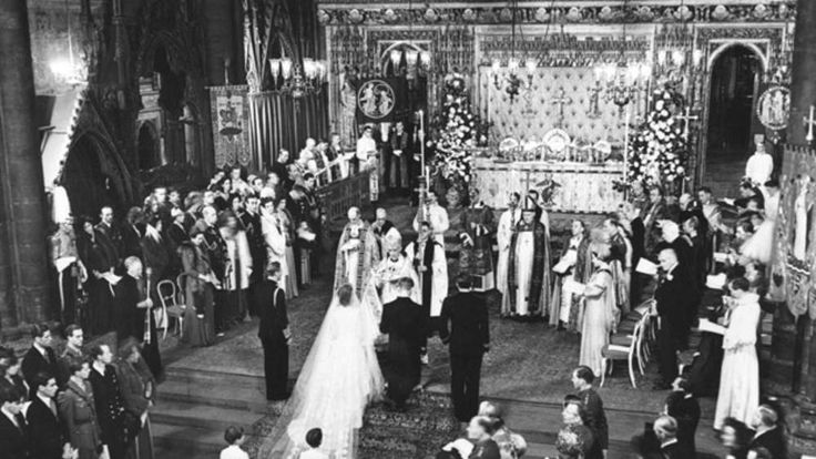 20 November 1947:  Princess Elizabeth and Prince Philip's wedding.