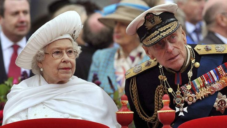 The Queen and Prince Philip June during the Diamond Jubilee celebrations in June 2012