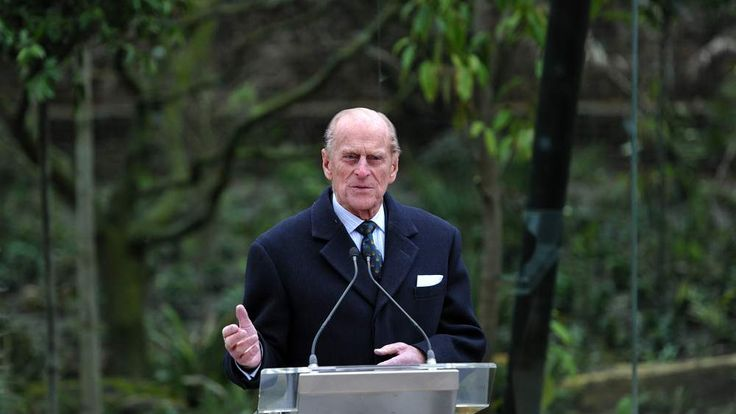 Prince Philip at the opening of the new Sumatran tiger enclosure at London Zoo