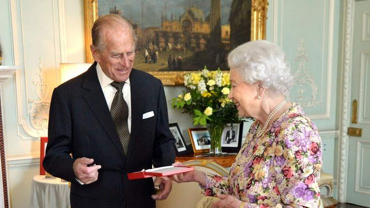 Duke of Edinburgh receives Order of New Zealand