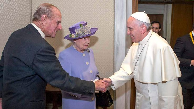 The Queen And Duke Of Edinburgh Visit Rome And The Vatican City