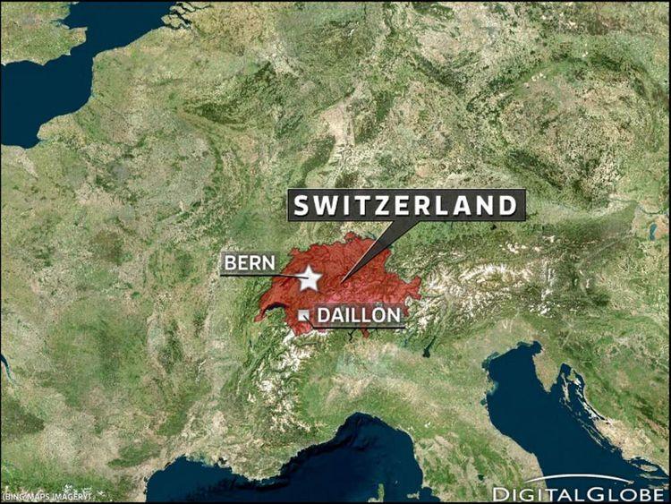 Switzerland Shooting Map
