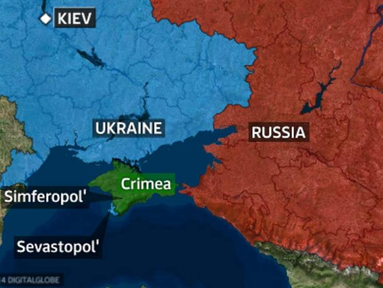 Ukraine, Russia and Crimea