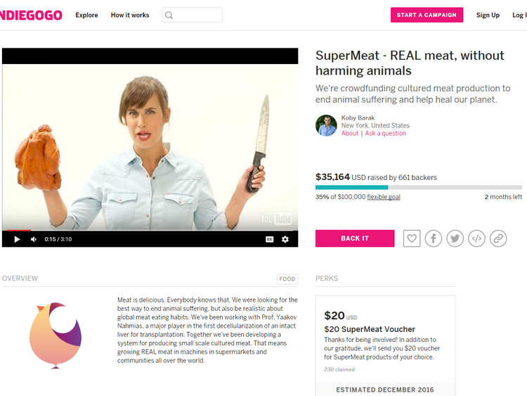 The company has launched an Indiegogo crowdfunding campaign