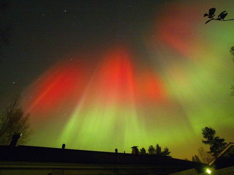 Solar eruptions can light up the night sky with magnificent aurora displays