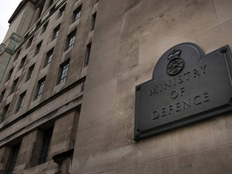 The Ministry of Defence headquarters in London