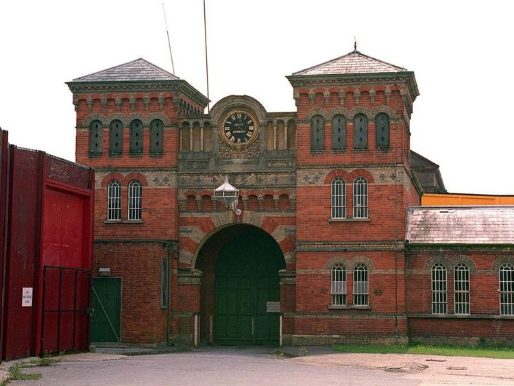 Entrance to Broadmoor high security hospital