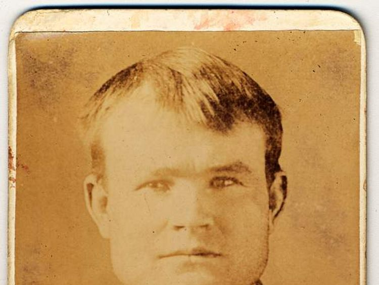 Photograph taken at the Wyoming State Penitentiary, Laramie, Wyoming