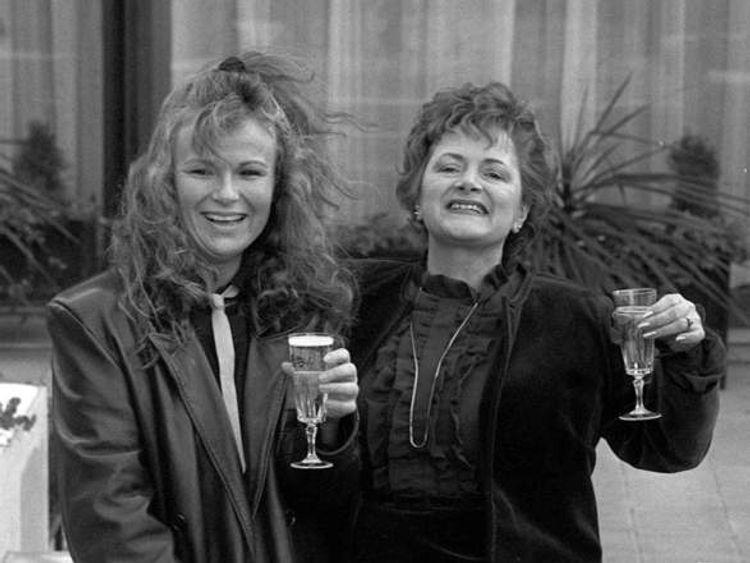 Julie Walters and Cynthia Payne
