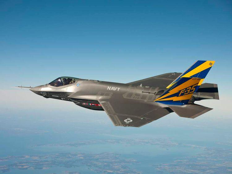 F35 test flight
