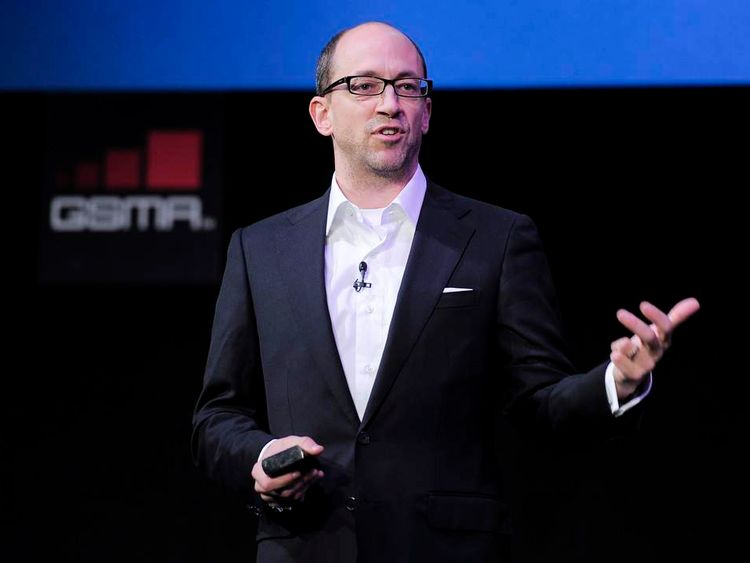 The chief executive officer of Twitter, Dick Costolo