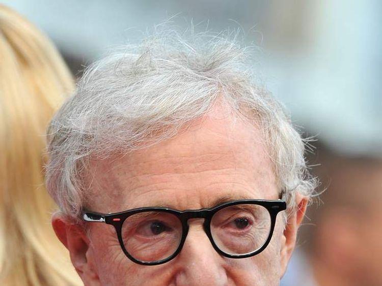 Film director Woody Allen