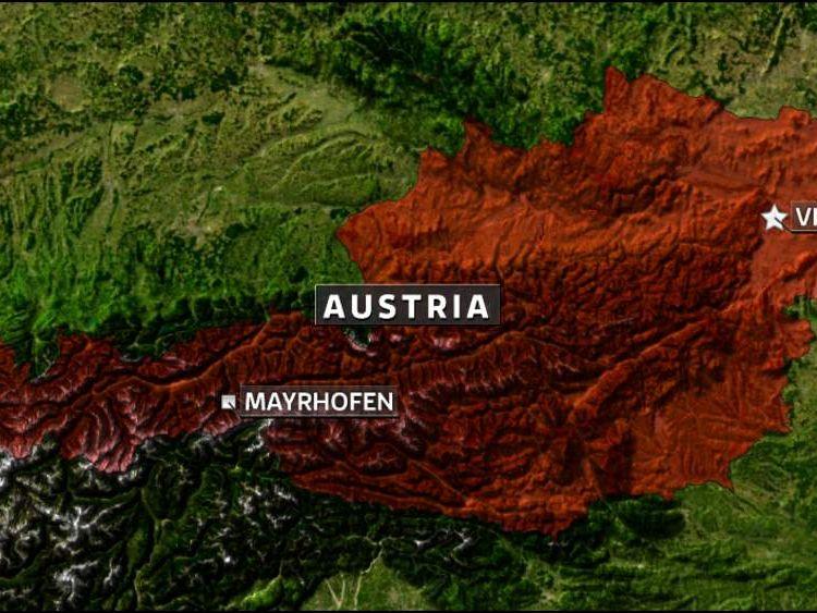 Mayrhofen Austria Skiiing Accident