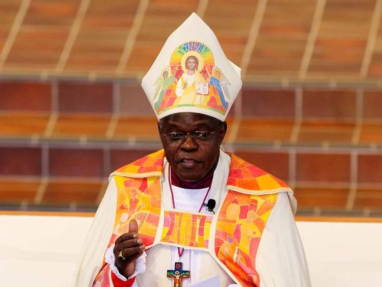 The Archbishop of York John Sentamu