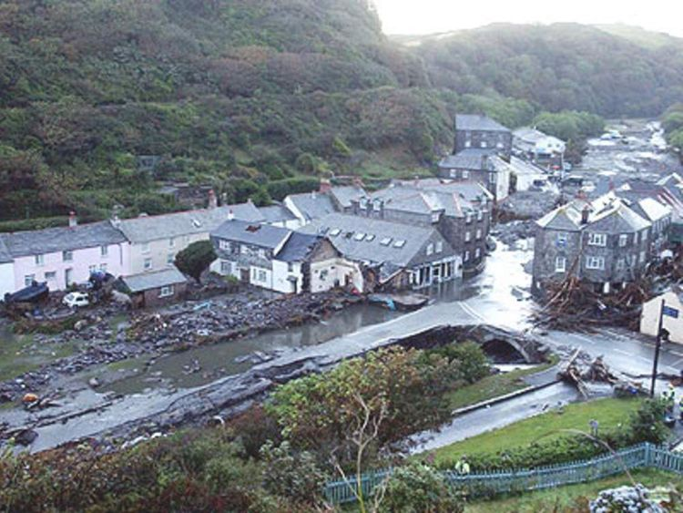 PG 1 Floods Cornwall