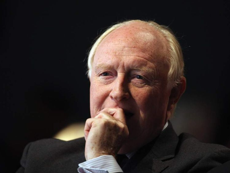 Neil Kinnock at the Labour party conference