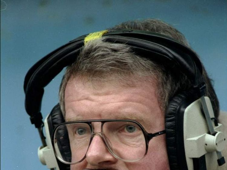 Football commentator John Motson