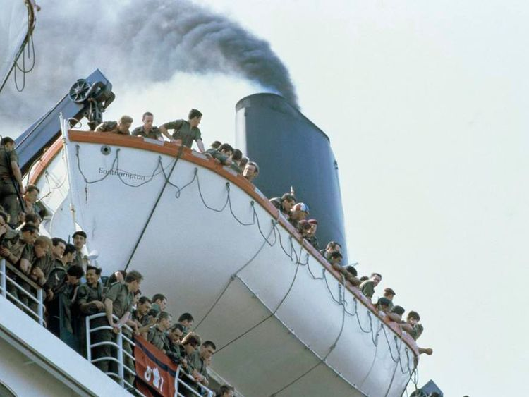Leaving For The Falklands