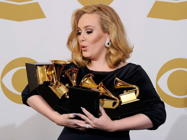 Adele at 2012 Grammys