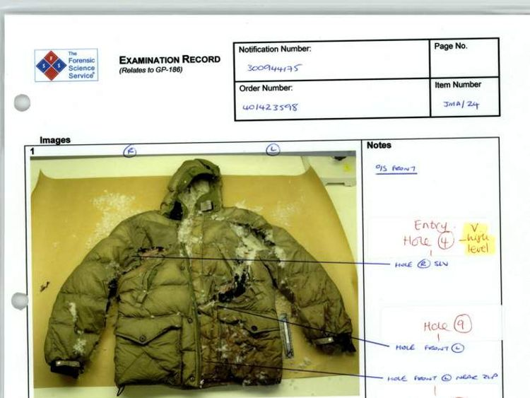 Evidence released at Mark Duggan inquest
