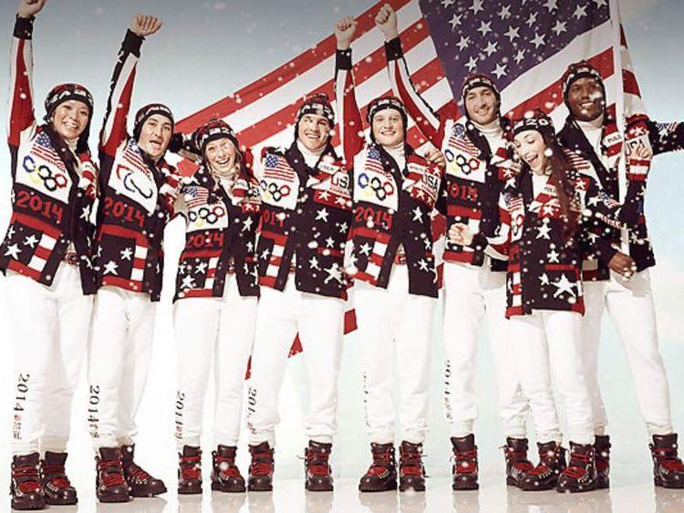 Ralph Lauren uniforms for US athletes at Winter Olympics,