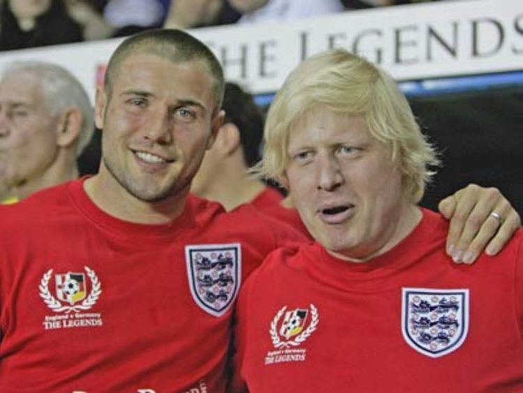 PG Charity match Boris