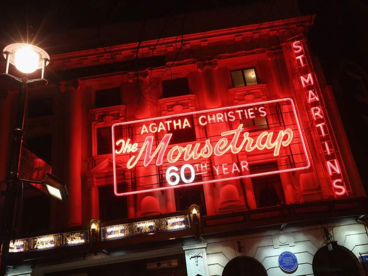 The Mousetrap, which is the longest-running show in the world, is celebrating its 60th anniversary