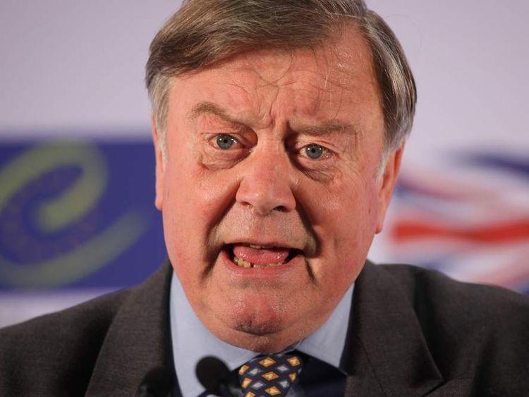 Britain's Trade Envoy Ken Clarke