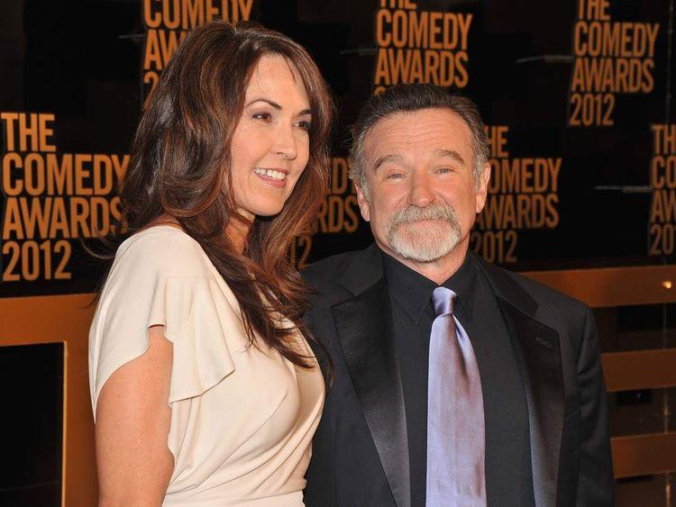 Robin Williams and wife Susan Schneider