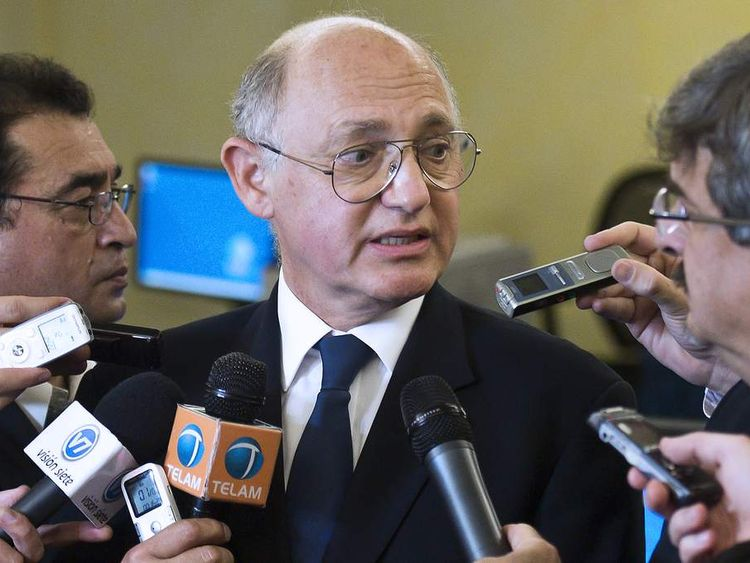 Argentine Foreign Minister Hector Timerman
