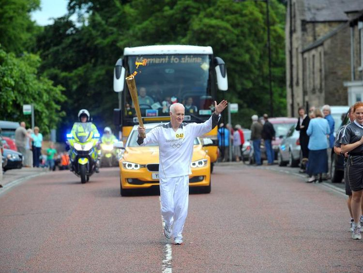 Day 33 - Olympic Torch Relay