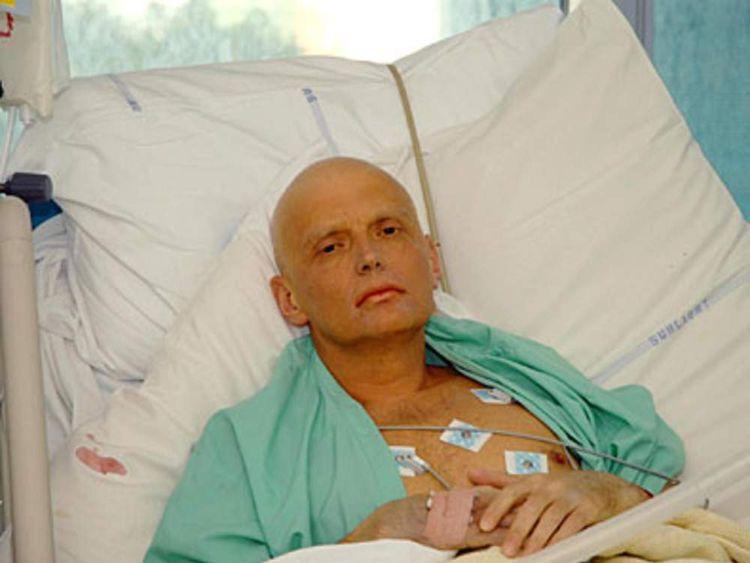 PG2 alexander litvinenko russian ex-spy hospital