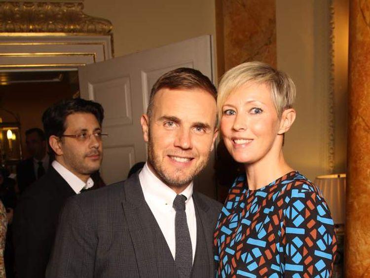 Barlow and Dawn at Children In Need reception at No 10