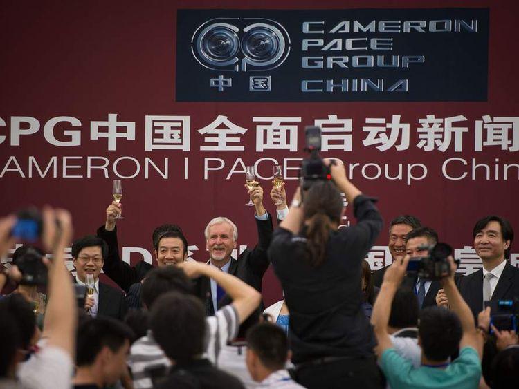 James Cameron China 3D
