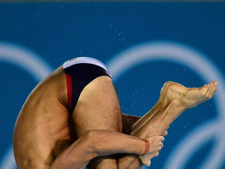 Somersault tuck Olympic final