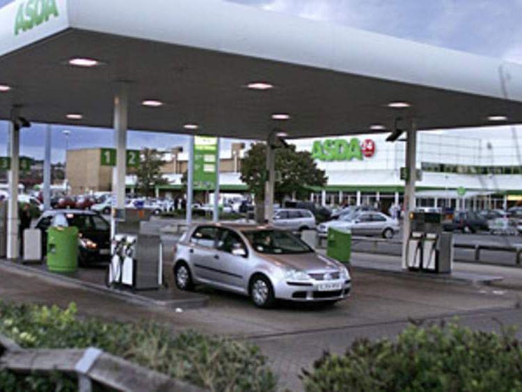 An ASDA petrol station