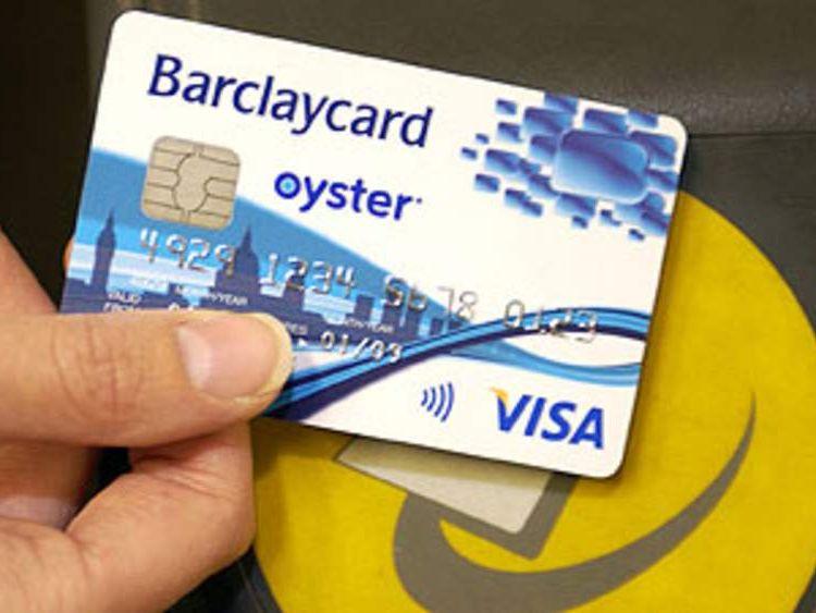 Barclaycard as Oyster card