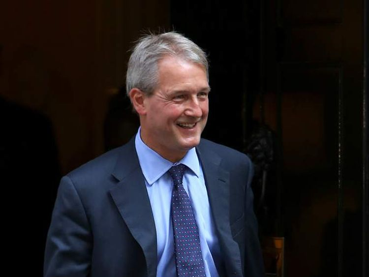 Owen Paterson Environment Secretary