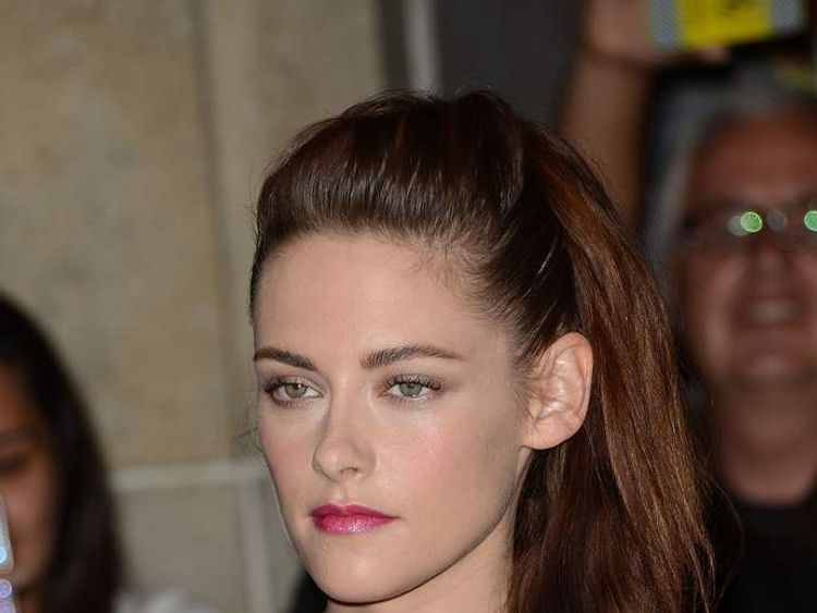 Kristen Stewart attends the On The Road premiere in September 2012