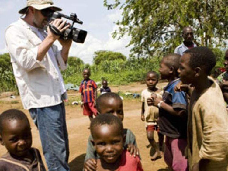 Ben Affleck films in the Democratic Republic of Congo