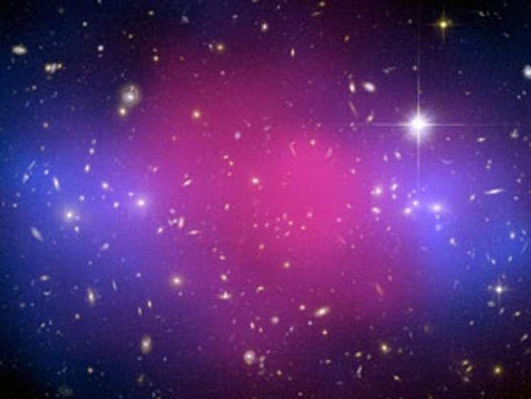 Dark matter in Galaxy Cluster MACS J00254.4-1222