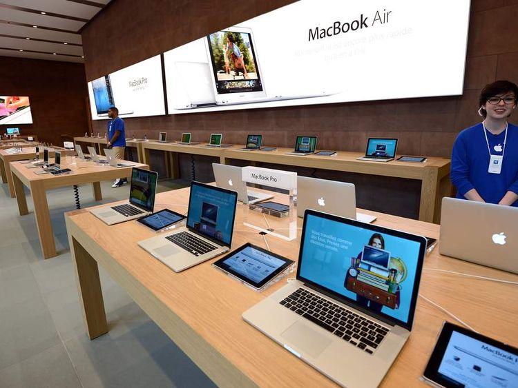 Apple store in Strasbourg