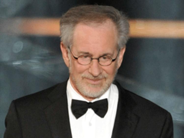 Film director Steven Spielberg at 81st Academy Awards