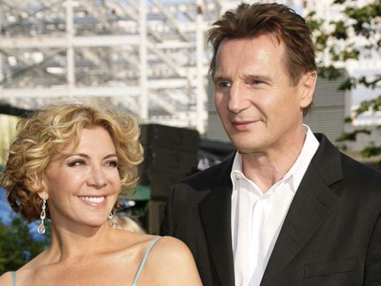Natasha Richardson and husband Liam Neeson