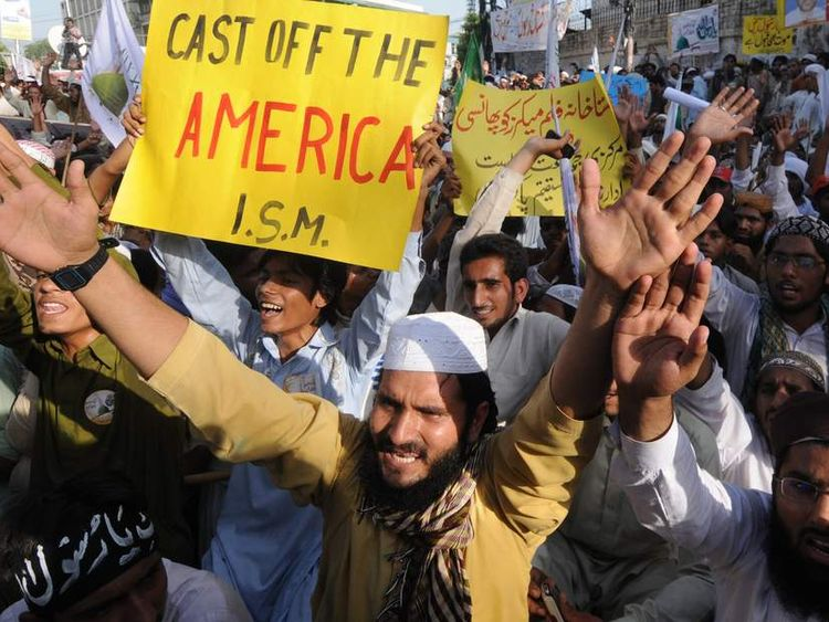 Pakistan protests against US film which allegedly mocks Prophet Mohammed