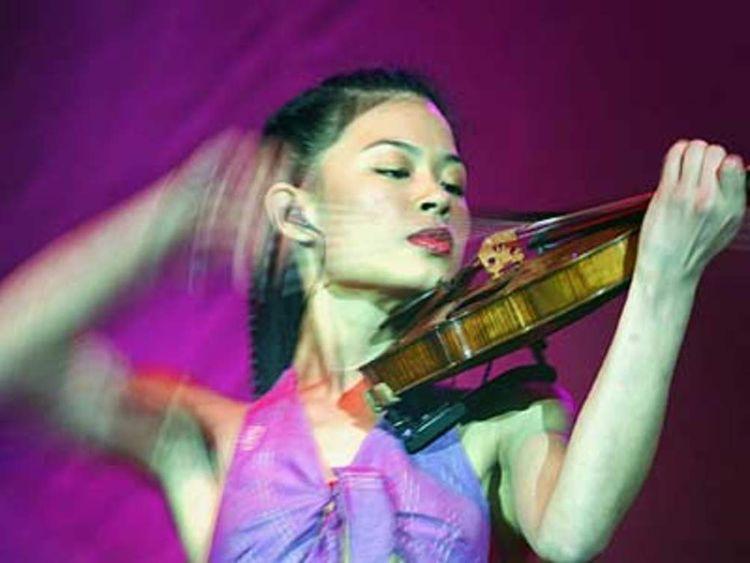 PG Vanessa Mae violin rich list