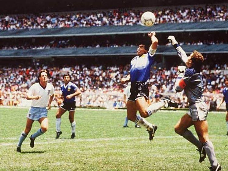 Sporting cheats - Maradona
