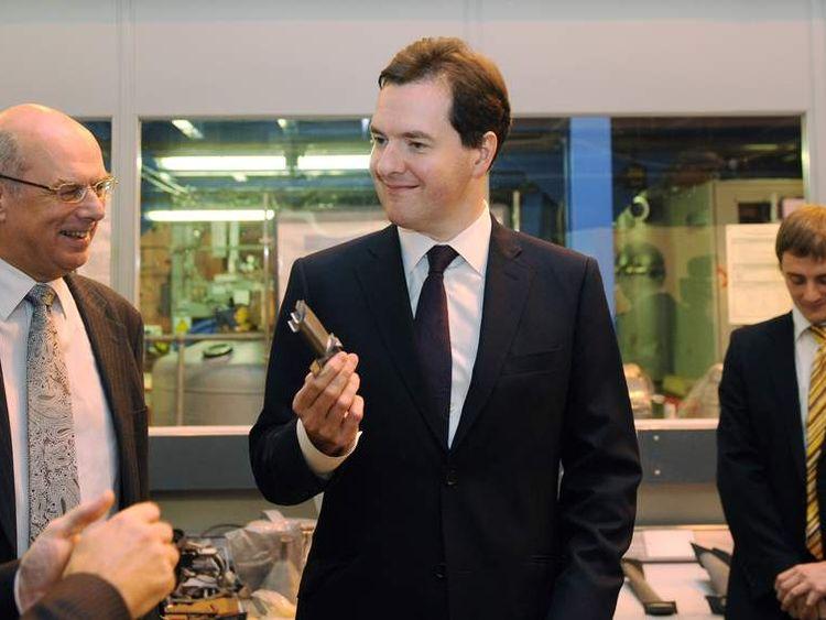 George Osborne at the University of Birmingham
