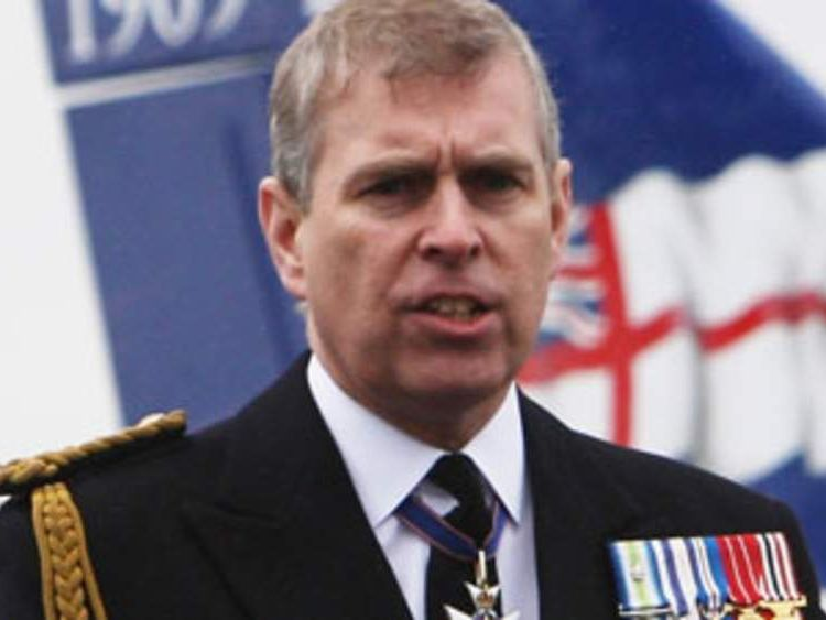 Duke of York Prince Andrew